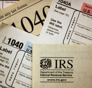 irs tax file form