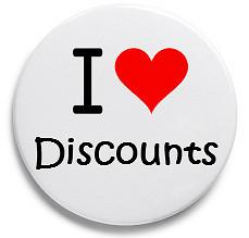 i love discount