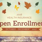 2018健康保険オープンエンロールメントが近づいています!