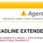★速報★2019カリフォルニア州健康保険の申込期間が延長されました。