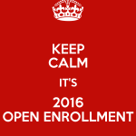 健康保険オープン・エンロールメントが今日から始まります!- Obamacare Open Enrollment for 2016