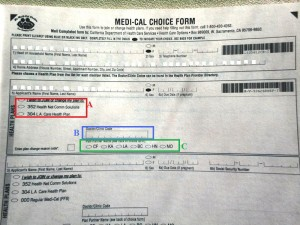 Medi-Cal Choice Form2